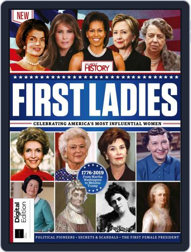 First Ladies March 25th, 2019 Digital Back Issue Cover