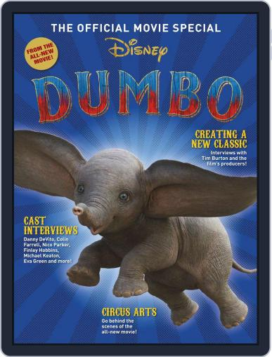 Dumbo: The Official Movie Special March 29th, 2019 Digital Back Issue Cover
