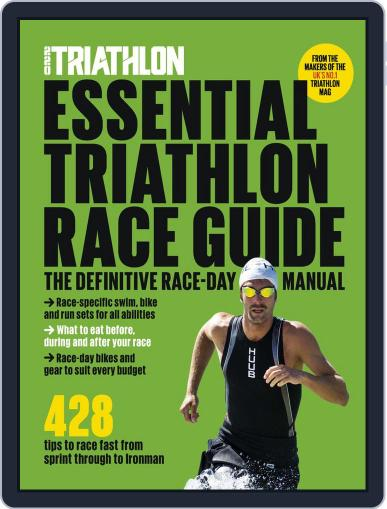 Essential Triathlon Race Guide April 2nd, 2019 Digital Back Issue Cover