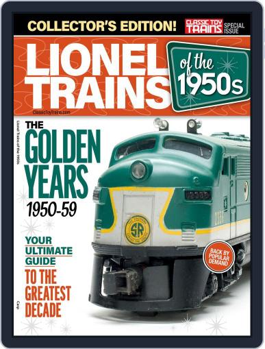 Lionel Trains of the 1950's April 9th, 2019 Digital Back Issue Cover