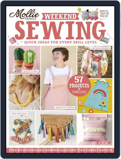 Mollie Makes Weekend Sewing June 3rd, 2020 Digital Back Issue Cover