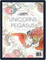 Colouring Book: Unicorns and Pegasus Magazine (Digital) Subscription April 15th, 2019 Issue
