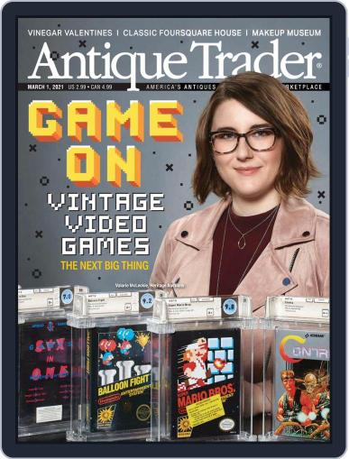 Antique Trader Magazine (Digital) March 1st, 2021 Issue Cover