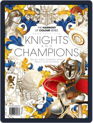 Colouring Book: Knights and Champions May 24th, 2019 Digital Back Issue Cover