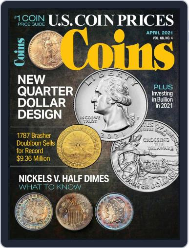 Coins Magazine (Digital) April 1st, 2021 Issue Cover