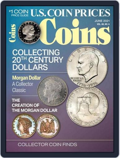 Coins Magazine (Digital) June 1st, 2021 Issue Cover