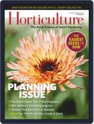 Horticulture Magazine (Digital) Subscription January 1st, 2021 Issue