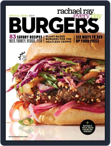 Rachael Ray Every Day Burgers May 31st, 2019 Digital Back Issue Cover