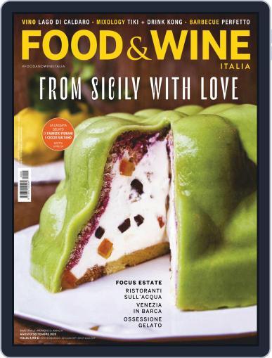 Food&Wine Italia Magazine (Digital) August 1st, 2020 Issue Cover