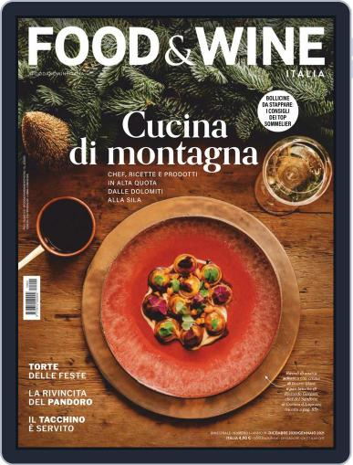 Food&Wine Italia Magazine (Digital) December 1st, 2020 Issue Cover