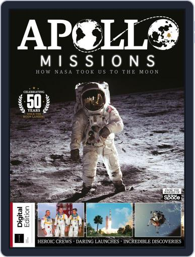 Apollo Missions July 9th, 2019 Digital Back Issue Cover