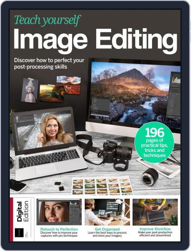 Teach Yourself Image Editing July 9th, 2019 Digital Back Issue Cover