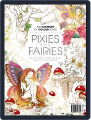 Colouring Book: Pixies  and Fairies Magazine (Digital) Subscription July 17th, 2019 Issue