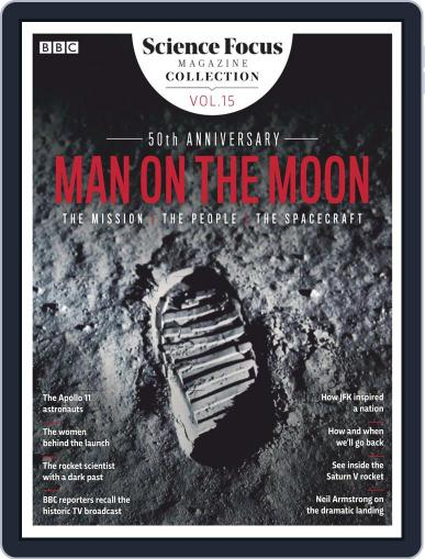 Man on the Moon 50th Anniversary July 16th, 2019 Digital Back Issue Cover
