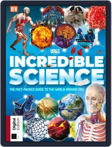 How It Works Book of Incredible Science July 22nd, 2019 Digital Back Issue Cover
