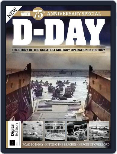 D-Day July 26th, 2019 Digital Back Issue Cover
