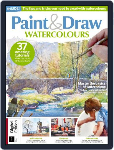 Paint & Draw Watercolours July 26th, 2019 Digital Back Issue Cover