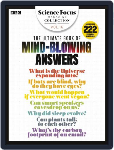 The Ultimate Book of Mind-Blowing Answers Magazine (Digital) August 5th, 2019 Issue Cover