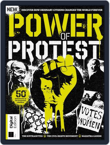 Power of Protest August 23rd, 2019 Digital Back Issue Cover