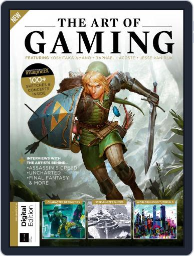 The Art of Gaming August 23rd, 2019 Digital Back Issue Cover