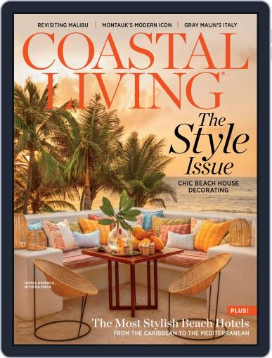 Coastal Living The Style Issue August 20th, 2019 Digital Back Issue Cover