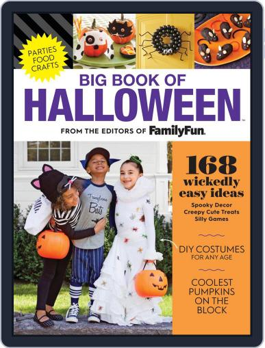 FamilyFun Big Book of Halloween August 16th, 2019 Digital Back Issue Cover
