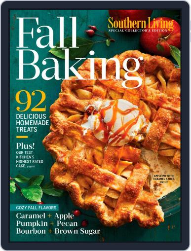 Southern Living Fall Baking August 20th, 2019 Digital Back Issue Cover