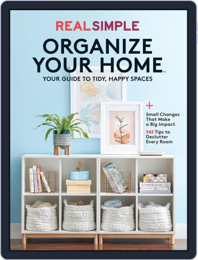 Real Simple Organize Your Home September 5th, 2019 Digital Back Issue Cover