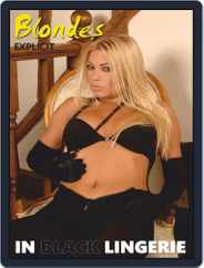 Blondes in Black Lingerie Magazine (Digital) Subscription October 11th, 2020 Issue
