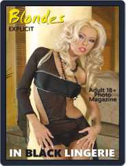 Blondes in Black Lingerie Magazine (Digital) Subscription September 11th, 2020 Issue