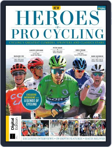 Heroes of Pro Cycling October 14th, 2019 Digital Back Issue Cover