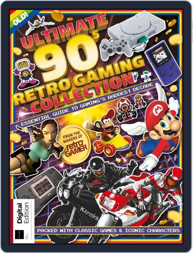 Ultimate 90s Retro Gaming Collection Magazine (Digital) October 21st, 2019 Issue Cover