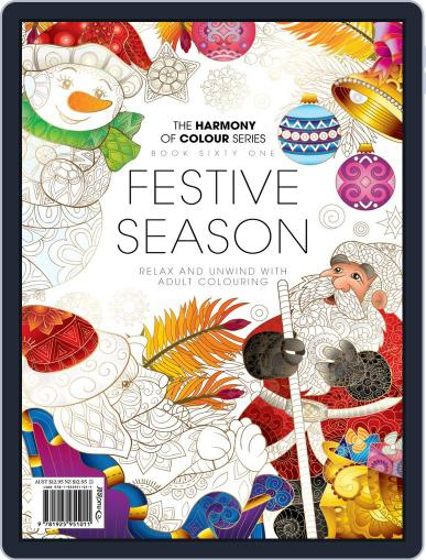 Colouring Book: Festive Season November 23rd, 2019 Digital Back Issue Cover
