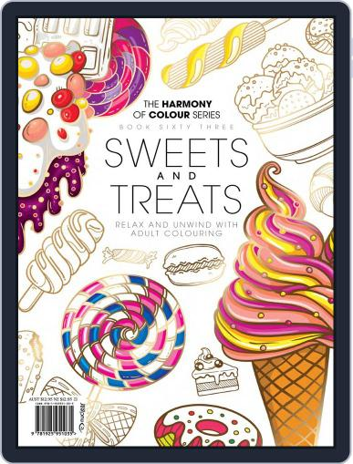 Colouring Book: Sweets and Treats