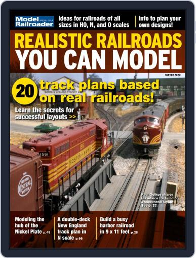 Realistic Railroads You Can Model Magazine (Digital) October 17th, 2019 Issue Cover