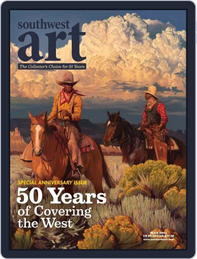 Southwest Art Magazine (Digital) May 1st, 2021 Issue Cover