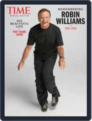 TIME Robin Williams Magazine (Digital) Subscription July 16th, 2019 Issue