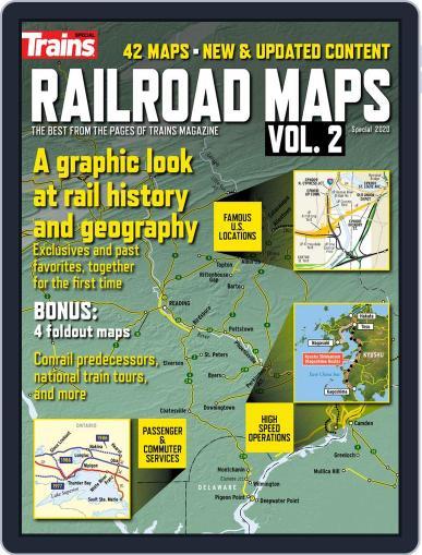 Railroad Maps, Vol. 2 Magazine (Digital) December 20th, 2019 Issue Cover