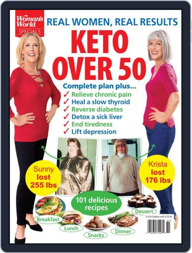 Keto Over 50 Magazine (Digital) January 15th, 2020 Issue Cover