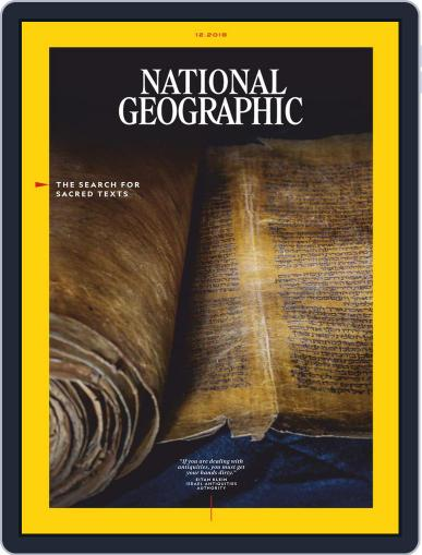 National Geographic December 1st, 2018 Digital Back Issue Cover