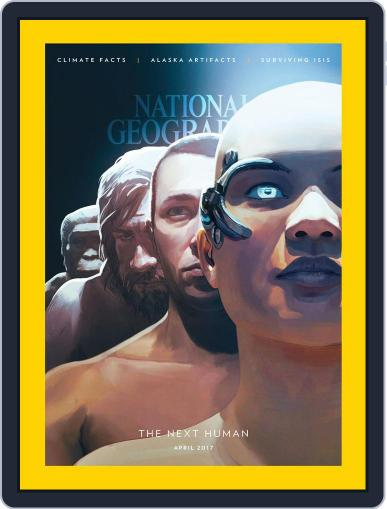National Geographic April 1st, 2017 Digital Back Issue Cover