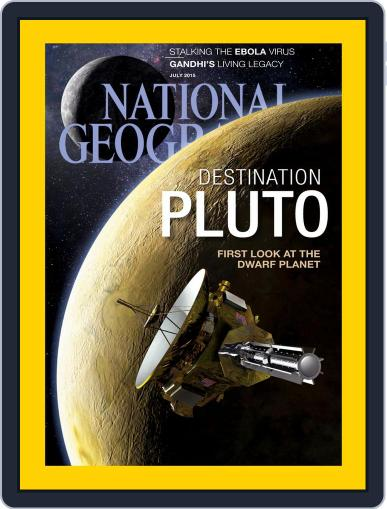 National Geographic July 1st, 2015 Digital Back Issue Cover