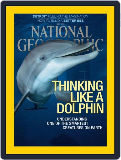 National Geographic April 30th, 2015 Digital Back Issue Cover