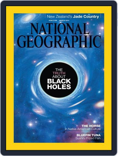 National Geographic February 28th, 2014 Digital Back Issue Cover