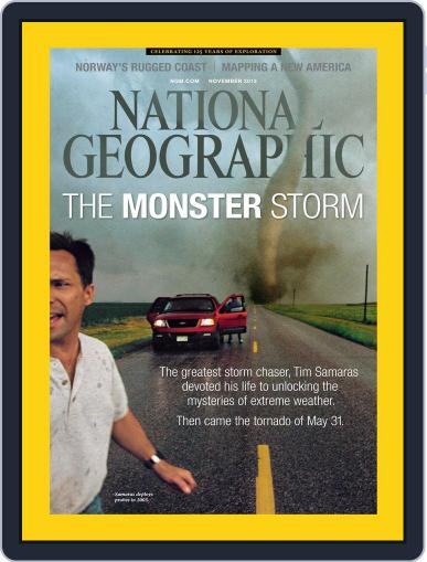 National Geographic November 1st, 2013 Digital Back Issue Cover