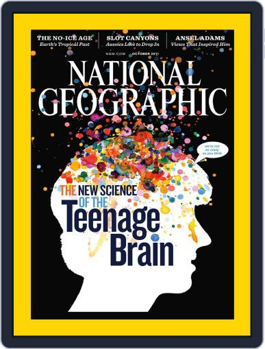 National Geographic October 3rd, 2011 Digital Back Issue Cover