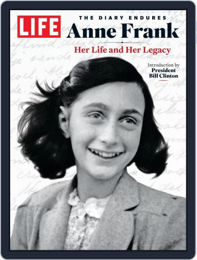 LIFE Anne Frank February 6th, 2020 Digital Back Issue Cover
