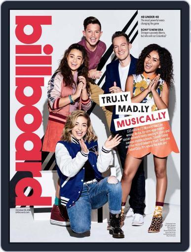 Billboard (Digital) October 29th, 2016 Issue Cover