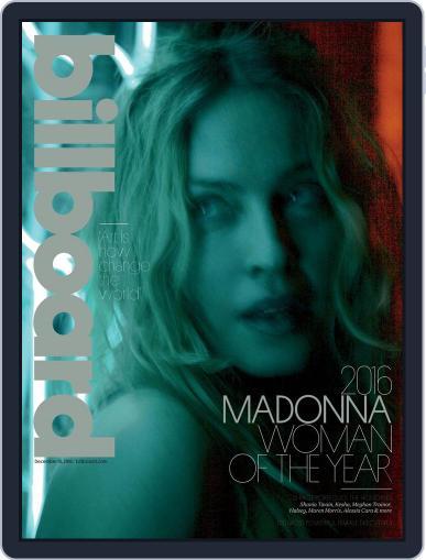 Billboard (Digital) December 10th, 2016 Issue Cover