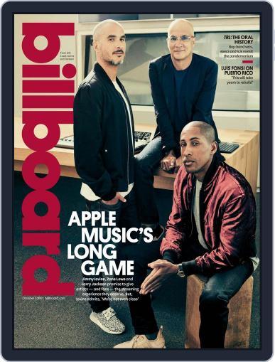 Billboard (Digital) October 7th, 2017 Issue Cover